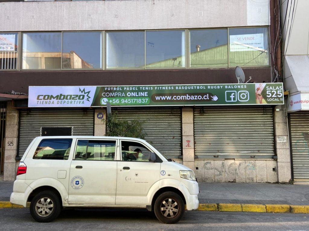 Tela PVC Bastidor en Centro de Concepción